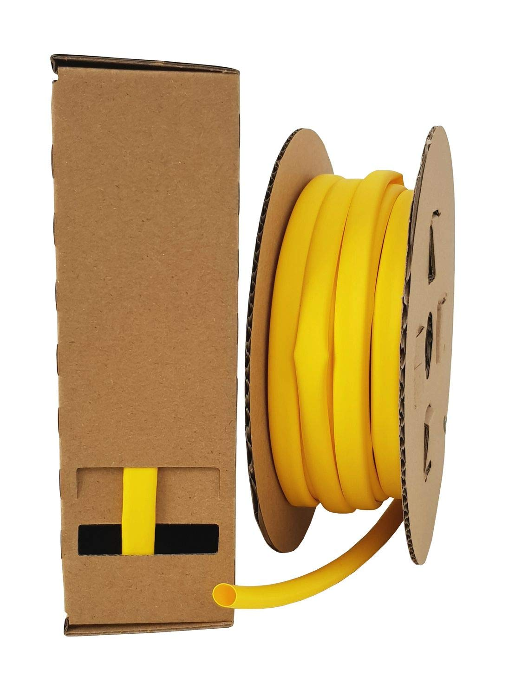 netproshop Minibox Schrumpfschlauch 3:1 von 1,5mm bis 24mm DM Durchmesser:18mm 5 Meter Farbe:Schwarz