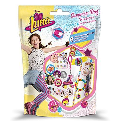 Craze 56401 - Sac Surprise Soy Luna Porte-clé, Bracelet, Papeterie Disney