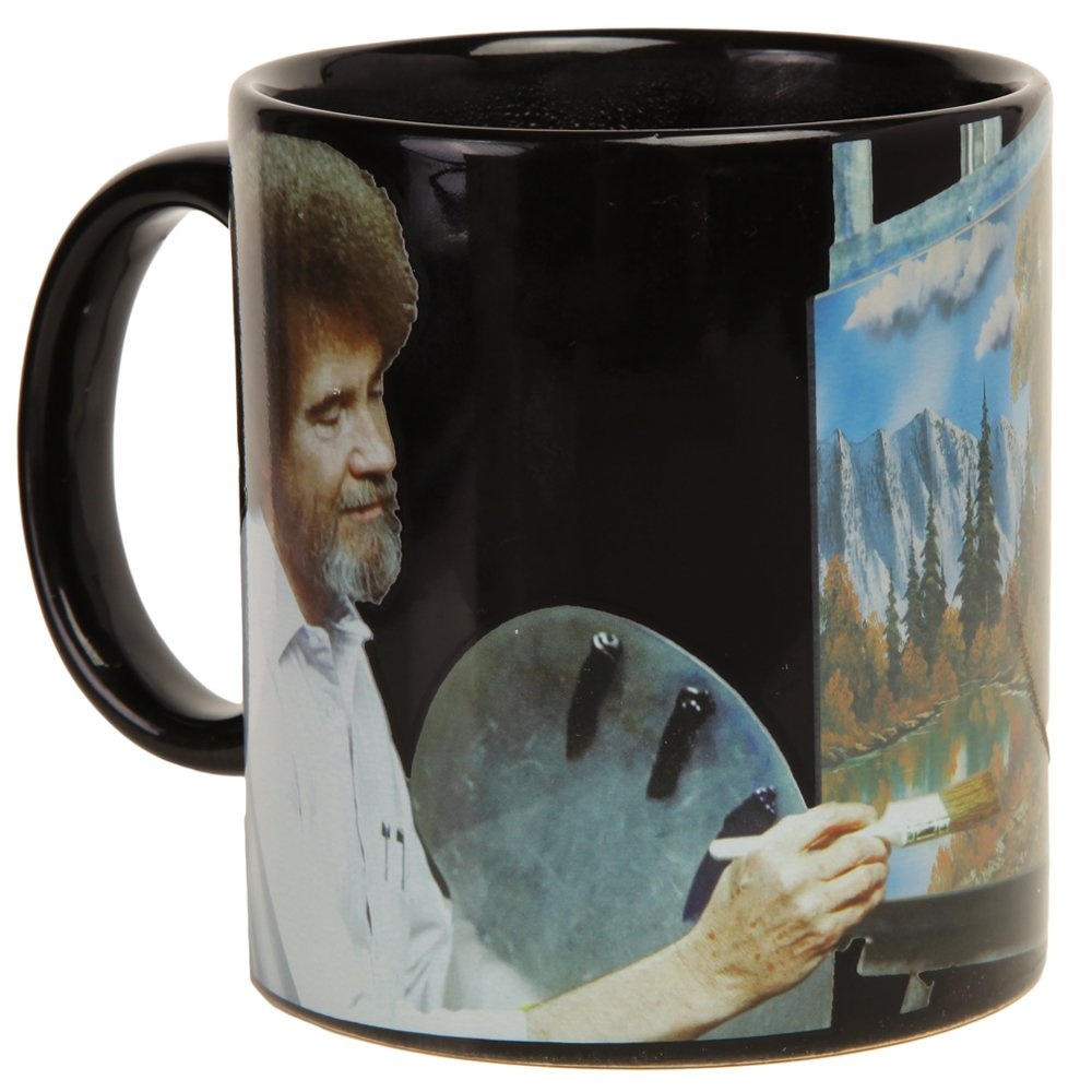 Bob Ross Heat Activated Canvas 16 oz. Coffee Mug by Classic Imports (Image #3)