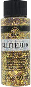 Plaid:Craft Folkart Glitterific Glitter Paint, Multicolor