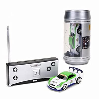 Mini 1:58 Coke Can RC Radio Remote Control Race Racing Car Toy Vehicles Gift XD: Toys & Games