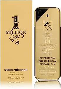 Paco Rabanne 1 Million Eau De Toilette Perfume For Men, 100 ml