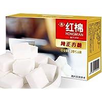 【2件9折】HONGMIAN 红棉 咖啡方糖454g速溶原味咖啡伴侣方块白砂糖块糖精制细砂糖120粒盒装