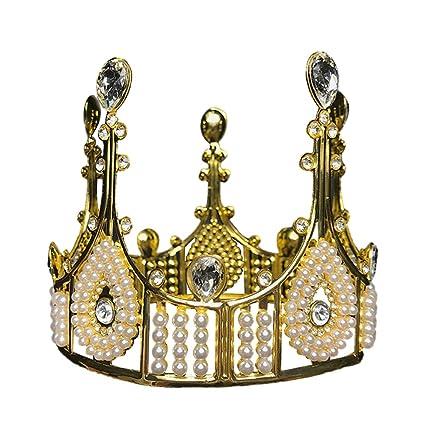 Corona de oro Corona de cumpleaños Corona vintage Corona de ...