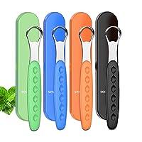 2020 New Version Tongue Scraper Cleaner for Adults & Kids, Medical Grade Metal Tongue...