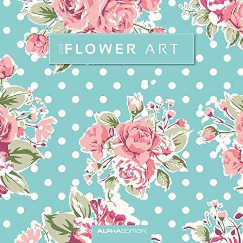 """Calendario Da Muro """"Arte Floreale"""" 2018 30X30 Cm"""