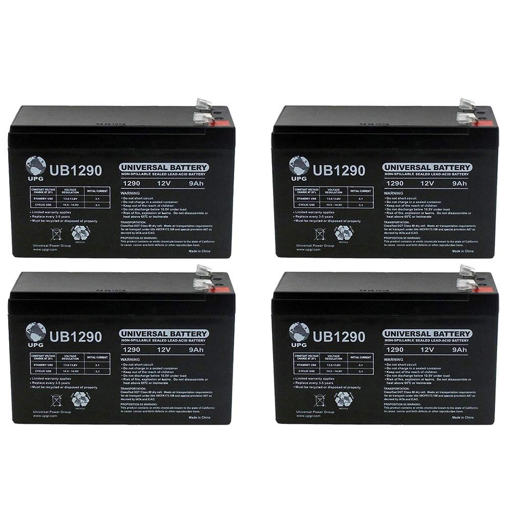 Galleon - Universal Power Group 12V 9Ah SLA Battery Eaton