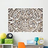 Maya Sun Wall Mural by Wallmonkeys Peel and Stick Graphic (60 in W x 41 in H) WM355073