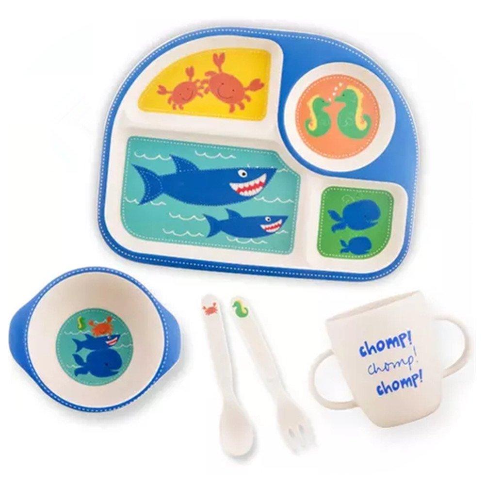 Sborter Kinder Teller Set Kindergeschirr Set Baby Geschirrset