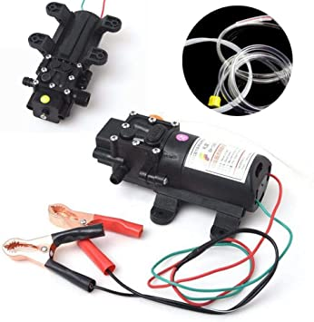 Podoy Oil Change Extractor Pump Electric 12V Fluid Suction Transfer Pump for Auto Marine Boat Diesel Car Motorbike