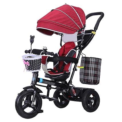 Cochecito para niños 4 en 1 Trike Carrito para bebé en ...