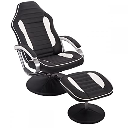 comfortable gaming chair. Interesting Comfortable Comfortable PU Recliner Chair Relax Racing Gaming W Footrest Throughout