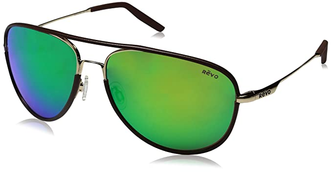 670108eb85 Revo Carlisle 61mm High Contrast Polarized Serilium 6-Base Lens Technology  Sunglasses