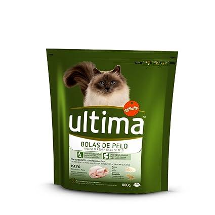 Ultima Cat Control Bolas De Pelo Pavo - 800 g