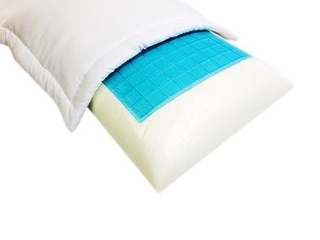 Amazon.com: 2 unidades Luz Creme estándar/queen sólida cama ...