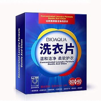 120 piezas nueva fórmula detergente para ropa en polvo nano ...