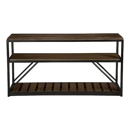 Superbe Ethan Allen Beam Console Table, Loft