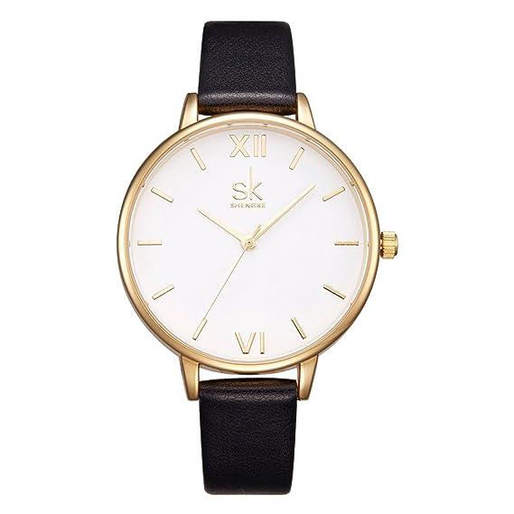 f49126088 Women Watches Leather Band Luxury Quartz Watches Girls Ladies Wristwatch  Relogio Feminino (K0056-Black