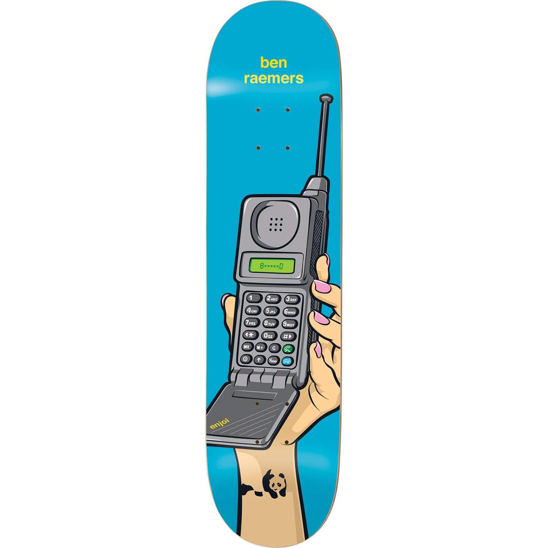 Enjoi SkateboardsスケートボードデッキインスタントメッセージベンRaemers Impact Light – 8 Impact