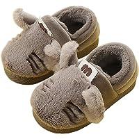 SROTER Bambina Bambino Invernali Pantofole Home Morbido Antiscivolo di Cotone Scarpe Caldo Peluche Casa Pattini Carine Cartone Animato Pantofole per Regalo Natale Ragazzi Ragazze
