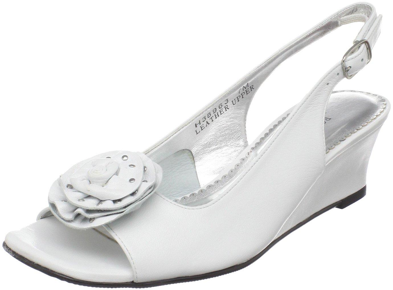 Rose Petals Women's Lela Dress Sandal B004138D1K 12 B(M) US|Silver Micropoints