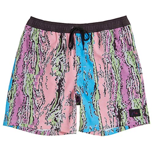 Rusty Liquified Elastic Boardshorts - Note Pink - 38