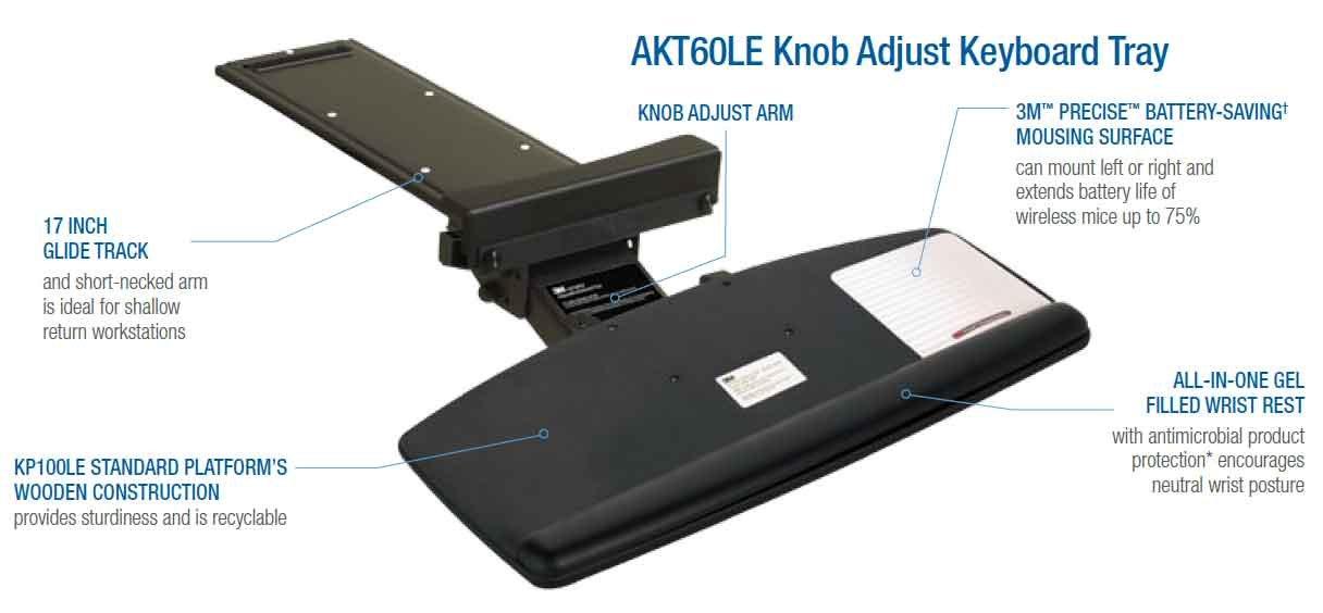Akt60le Adjustble Keyboard Tray Knob Buy Akt60le Adjustble Keyboard Tray Knob Online At Low Price In India Amazon In