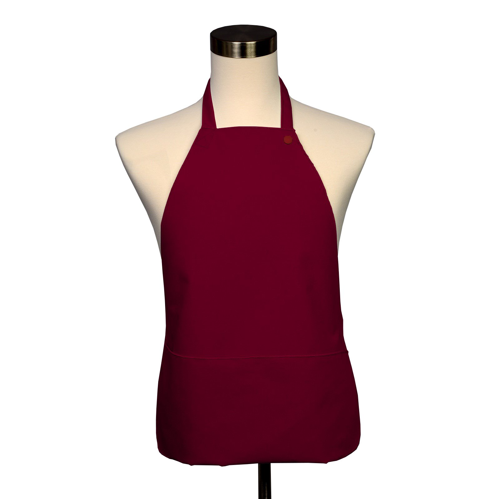 Adult Bib 25 Pack - Covered with Care Assorted Colors Available! (Red) by Fabric Textile Products
