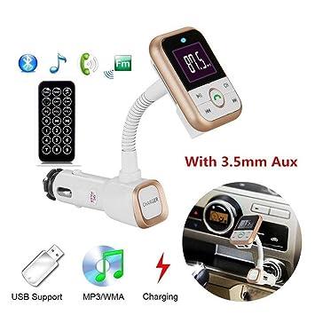 Hifi-geräte Universal Wireless Bluetooth Car Kit Hände-freies Fm Transmitter Radio Mp3 Player 5 V 2a Usb Auto Unterstützung Tf Karte Hifi-player