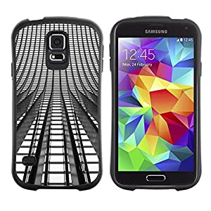 Suave TPU GEL Carcasa Funda Silicona Blando Estuche Caso de protección (para) Samsung Galaxy S5 / CECELL Phone case / / Lights Architecture Building City /