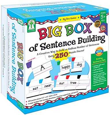 Key Education Publishing Big Box of Sentence Building by Key Education Publishing