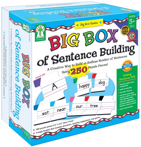 Esl Language Game (Big Box of Sentence Building)