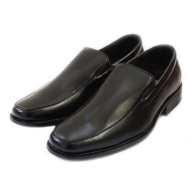 Delli Aldo Mens Loafers Slip ON Comfort Leather Lined Dress Shoes Black 19171 (10)   Loafers & Slip-Ons