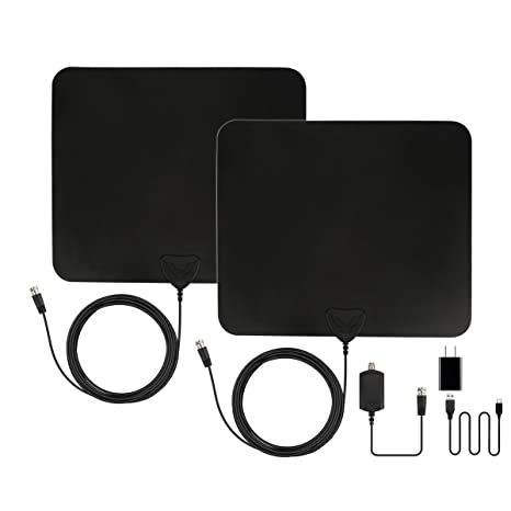 Review Amplified TV Antenna -