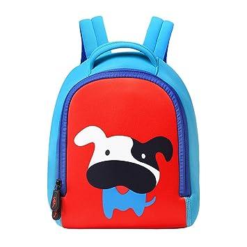 SFGHOUSE Mochila Infantil Perro Bolsas Escolares de Niños Niñas de Kindergarten Animales Mochilas: Amazon.es: Equipaje