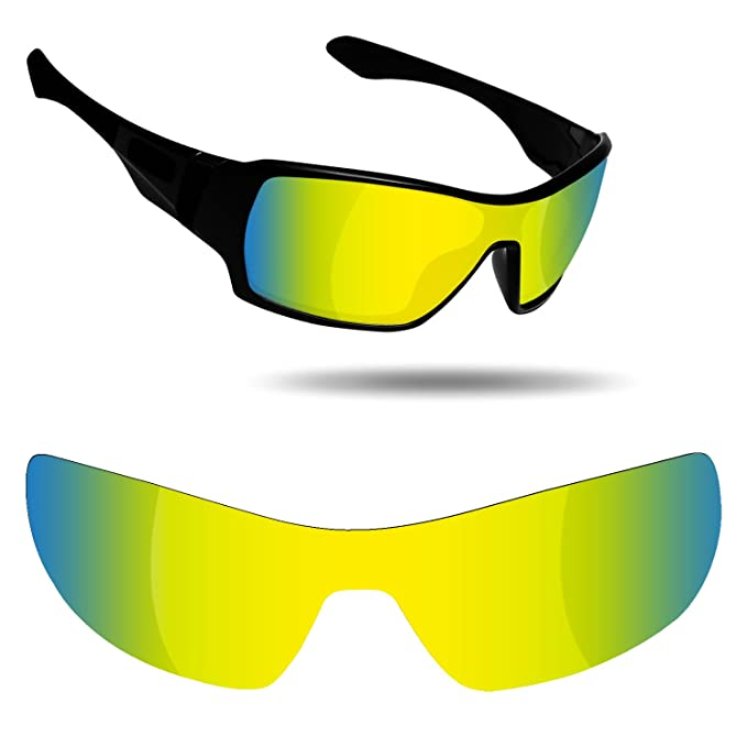 a2be6053bf Fiskr Anti-Saltwater   Anti-Oil Polarized Replacement Lenses for Oakley  Offshoot Sunglasses -