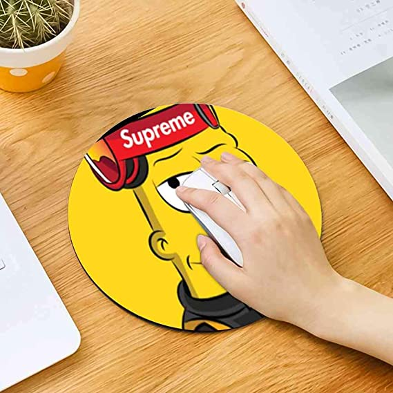 Amazoncom Disney Collection Mouse Pad Round Mouse Pad