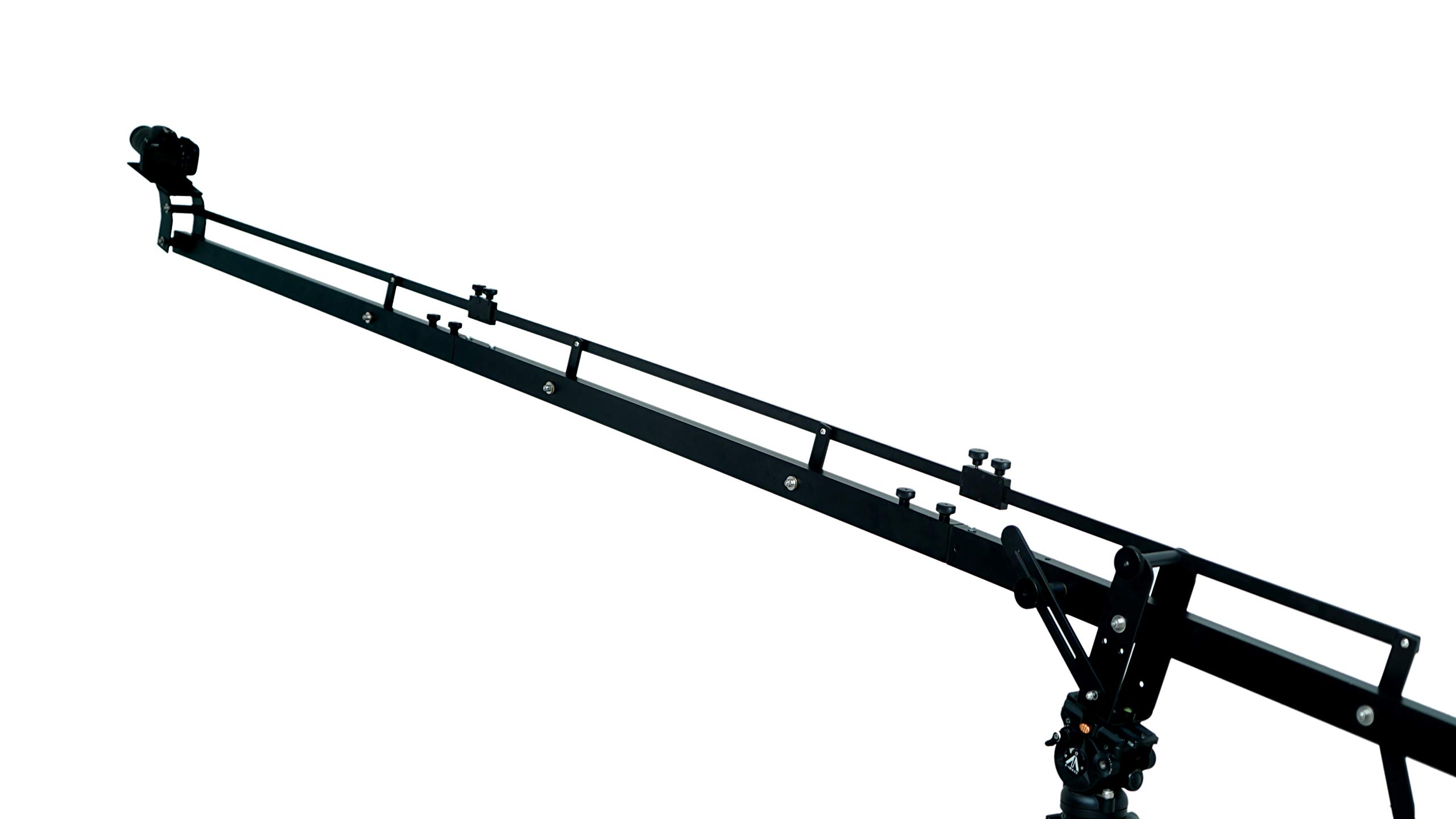 Camgear DSLR Video Camera Crane Jib DSLR Tilt with 11.5 feet Length | Heavy Duty Yet Lightweight, Best Travel/Indoor/Outdoor Aluminum Crane with LCD Arm and Bag by CamGear