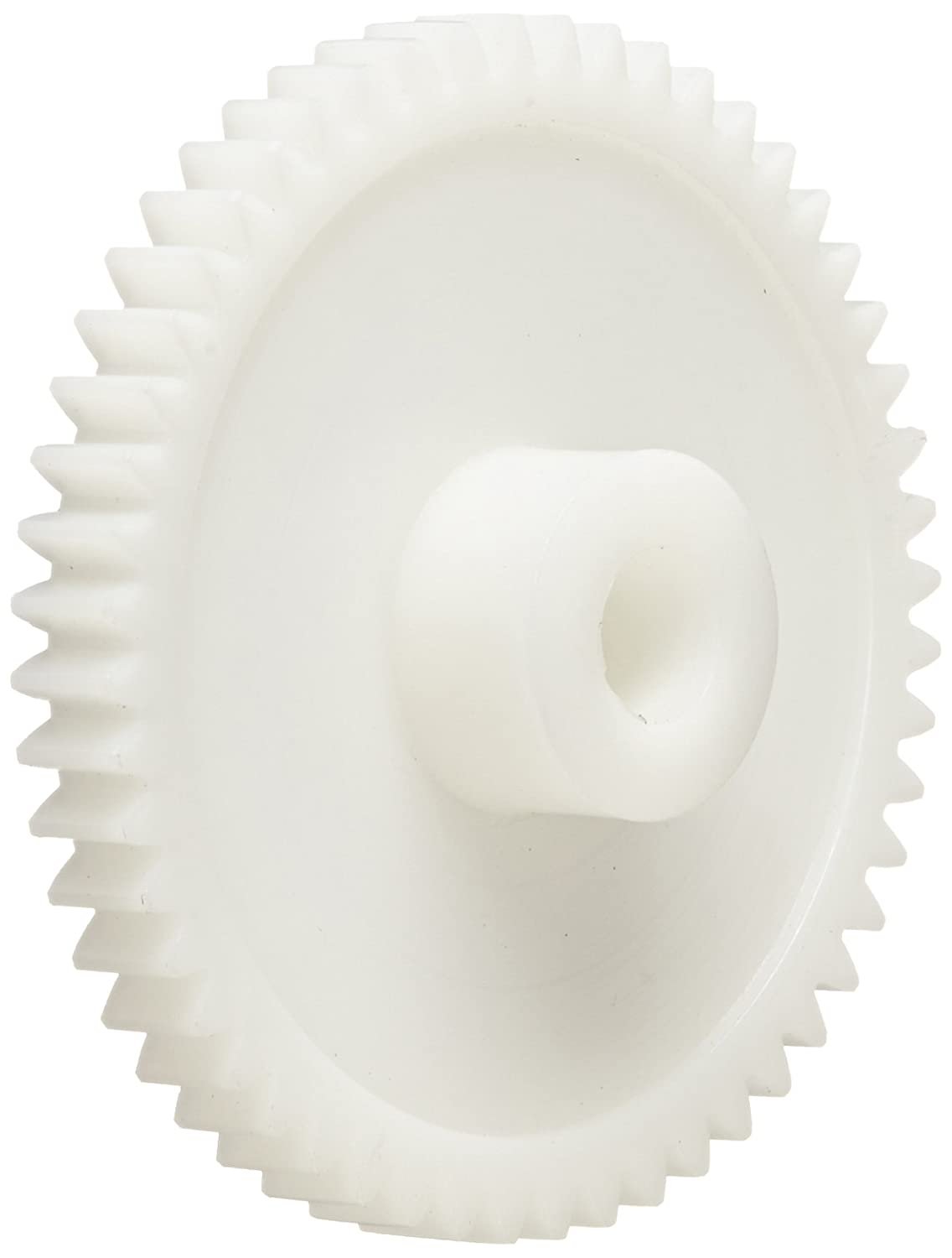 0.917 OD 20 Teeth 20 Degree Pressure Angle Spur Gear 0.833 Pitch Diameter Polyoxymethylene Inch 24 Pitch 3//16 Bore 1//4 Face Width