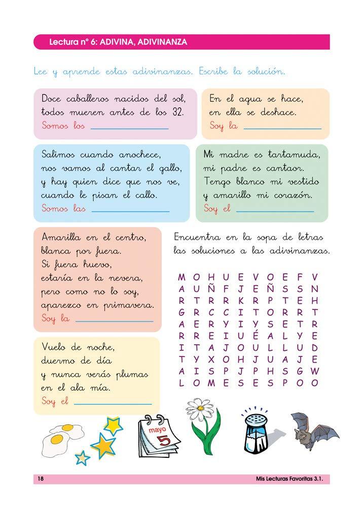 Mis lecturas favoritas 3.1 / Editorial GEU / 3º Primaria / Mejora ...
