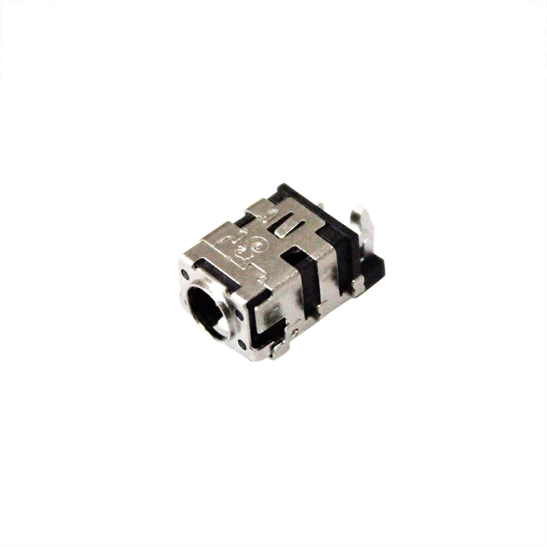 GinTai AC DC Power Jack Socket Plug Connector Port Replacement for Asus Q503 Q553 Q503UA Q553UB K456UJ