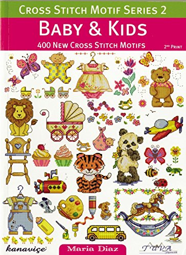 DMC Baby & Kids Cross Stitch Motif Pattern Book Series 2