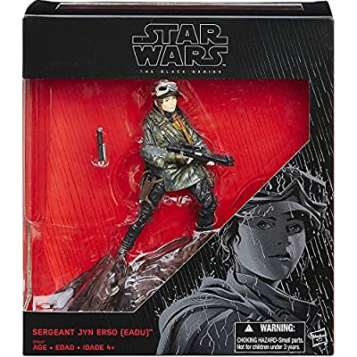 Star Wars Rogue One Sergeant Jyn Erso (eadu) Black Series: Toys & Games