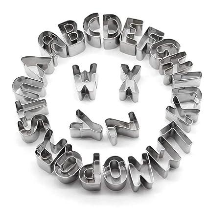 Mesigu Stampo da Cucina a Forma di Lettere dell\'alfabeto ...