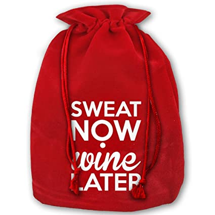 Amazon.com: Shing SWEAT NOW WINE LATER Christmas Candy Gift Premium ...