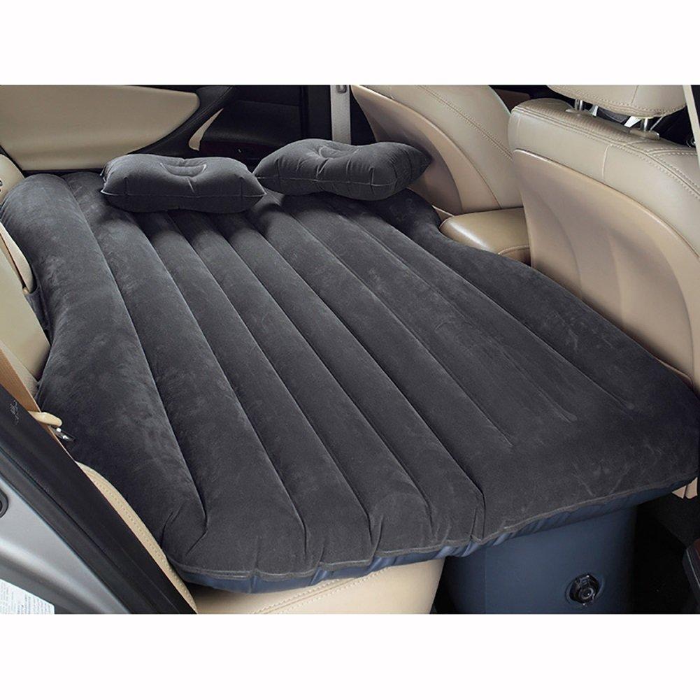 Inflatable Mattress Auto-Reise-aufblasbares Bett, Bequeme und Athletische antistatische Hohe Elastizität, eingebaute Luftpumpe und Kissen, verfügbar in Drei Farben.