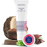 Arata Zero Chemicals Natural Anti Acne Face Wash, Face Cleanser 125 ml, with Lip Balm 10 g (with Lip Balm)