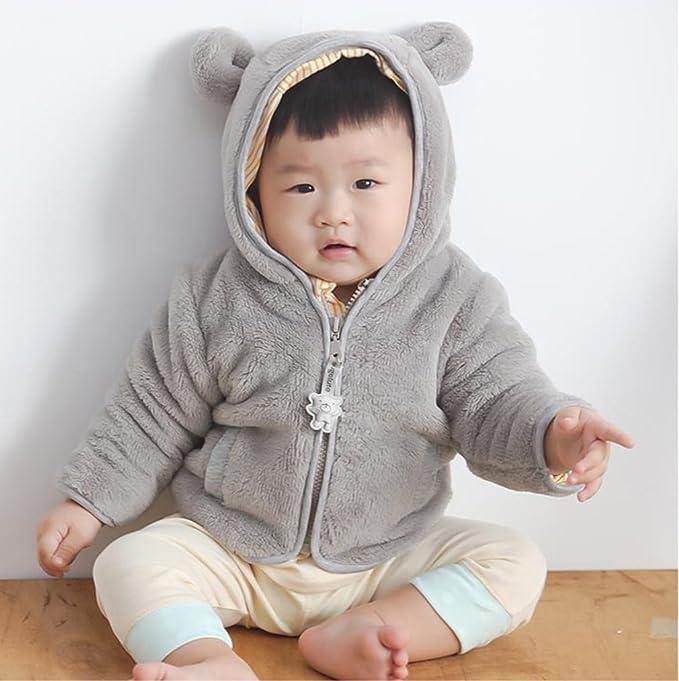 La vogue - Abrigos - para bebé niña gris Busto 60 cm: Amazon.es: Ropa y accesorios