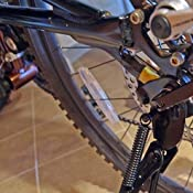 Bike Kickstand 26-29 in Adjustable Locking Down Position Quick Release Axles