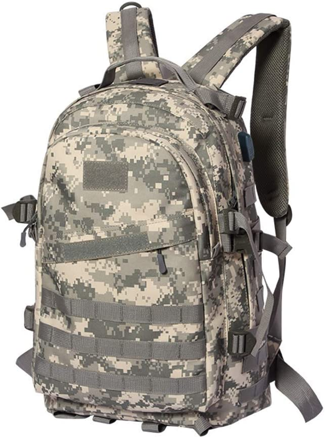 Zehaer Climb Backpack Outdoor Large-Capacity Backpack Suitable for Men Travel Camping Mountaineering Fans Color Canvas Backpack